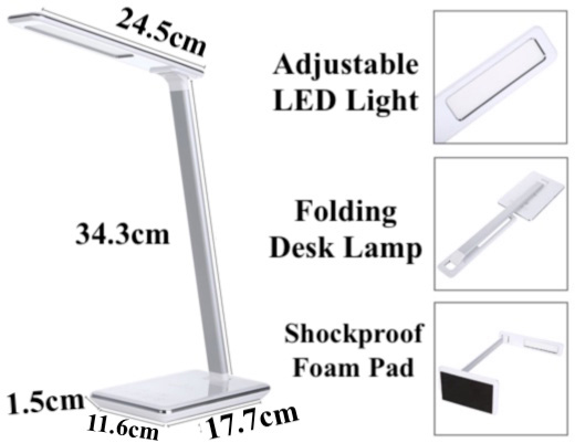 Functional Smart LED Desk Lamp