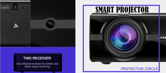 HD 1080P Smart Projector