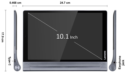 Multi Angle View Tablet PC
