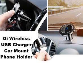 Phone Holder Qi Wireless Charger