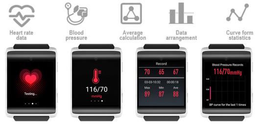 Big Screen Big Memory Smartwatch