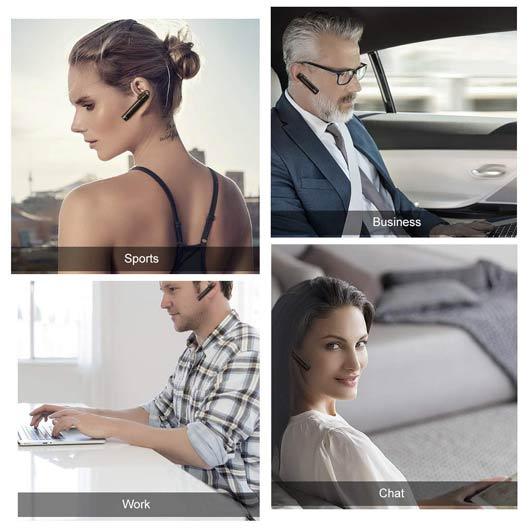 Humixx Car Wireless Bluetooth Headset