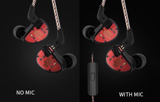 KZ In-Ear HiFi Stereo Earbuds
