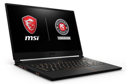 MSI GS65 Stealth THIN-051 gaming laptop