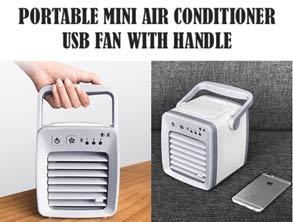 Portable USB Charging Mini Air Conditioner