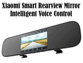 Smart Voice Control Car DVR Camera