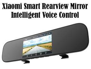 Smart Voice Control Car DVR Camera