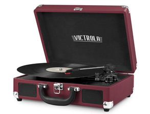 Vintage Bluetooth Suitcase Turntable