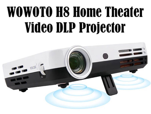WOWOTO H8 Video DLP Projector
