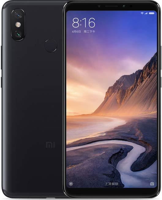 Xiaomi Mi Max 3 Phablet black
