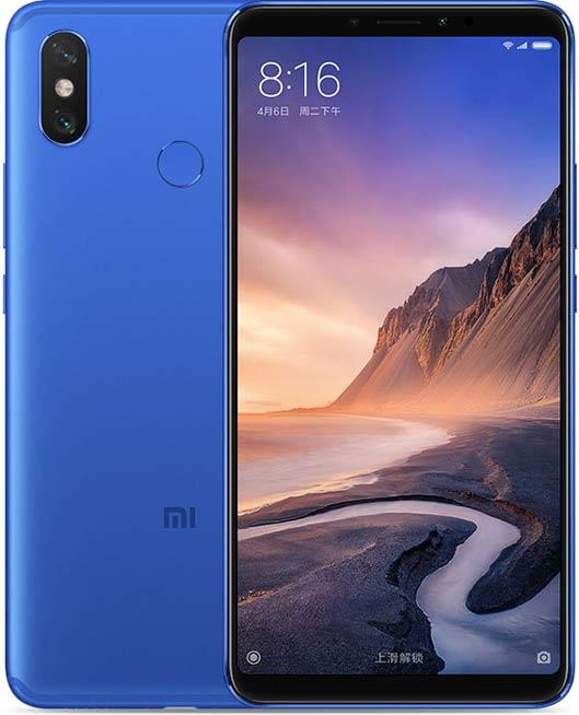 Xiaomi Mi Max 3 Phablet blue