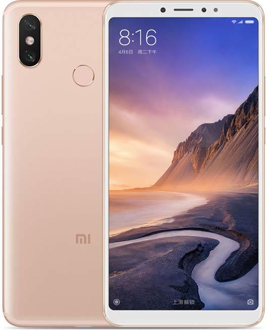 Xiaomi Mi Max 3 Phablet gold