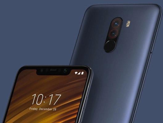 Xiaomi Poco F1 Smartphone blue