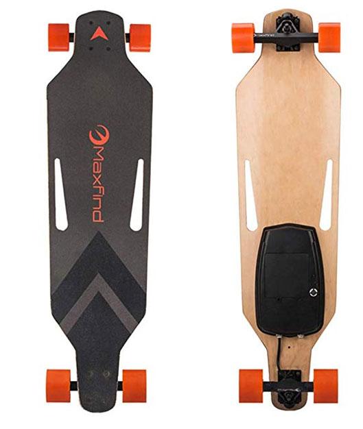 500W Motor Remote Control Four-wheel Electric Skateboard