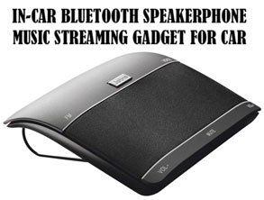 Best Music Streaming Bluetooth In-Car Speakerphone
