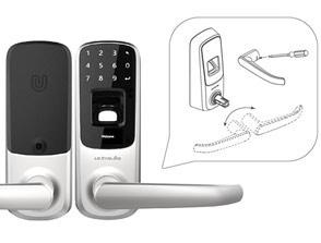 Fingerprint and Touchscreen Smart Lock