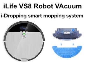 Ilife V8S Robotic Vacuum Cleaner discount