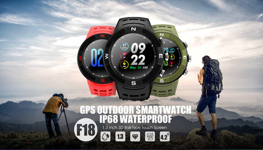 No.1 Outdoor Sports Smartwatch F18