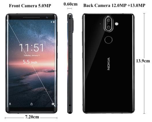 Nokia 8 Sirocco 4G Phablet