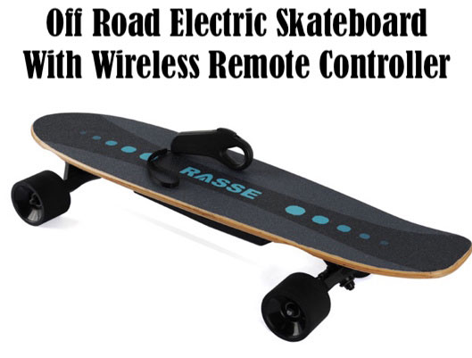Off Road Electric Skateboard With Wireless