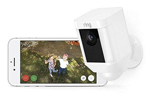 Ring Spotlight Two-Way Talk HD Security Camera Specs