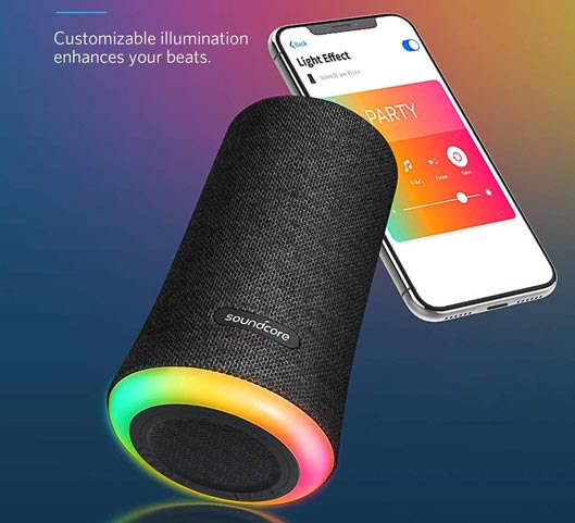 Soundcore Flare Portable Bluetooth 360 Speaker