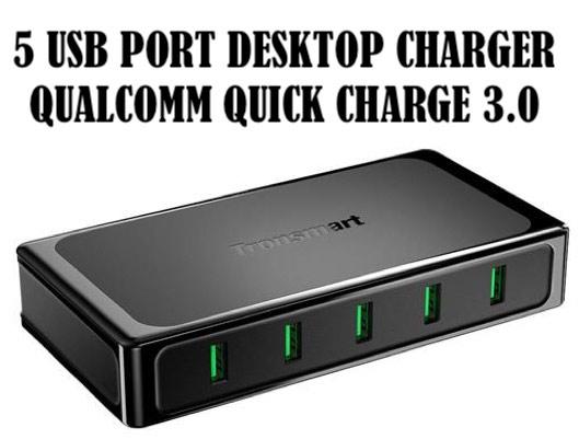 Tronsmart MULTI-PORTS USB Desktop Charger
