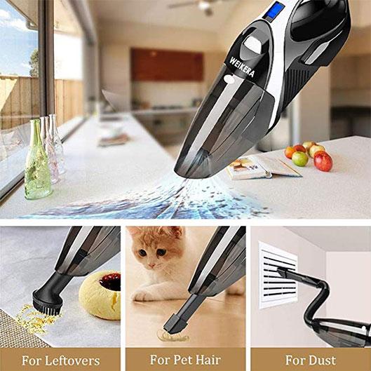 Welikera Rechargeable 100W Hand Vacuum Cleaner Specs Deals