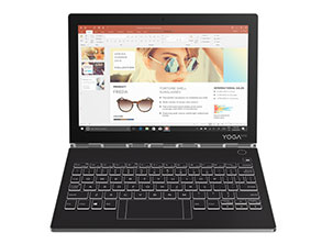 Yoga Book C930 Ultraportable 2-in-1 Hybrid Laptop Specs