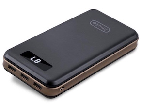 30000mAh Portable USB 3-Port Power Bank