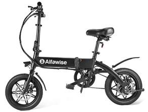 Alfawise New Powerful Folding Electric Bike