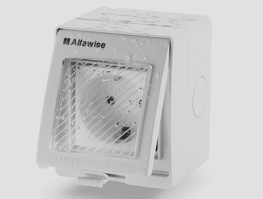Alfawise Smart Voice Control Wall Socket