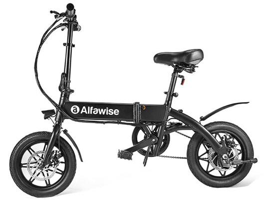 Alfawise YINYU14 Aluminum Alloy Folding Electric Bike