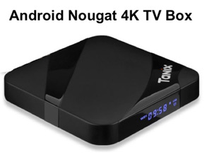 Best Android Nougat 4K TV Box
