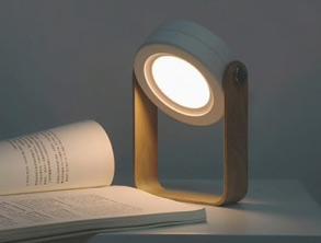 best Creative Wooden 360 Rotating Night Lamp