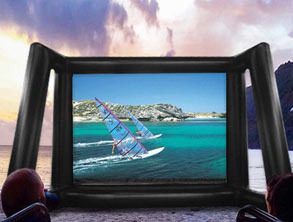 Best Inflatable Large Movie Screen for Projector
