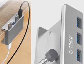 Best selling Clip-Type Multi-Port 3.0 USB Hub