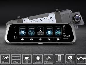 Best Selling HD 1080P DVR Rearview Mirror