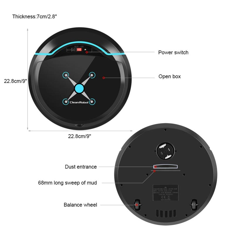Best Selling Mini Robot Vacuum