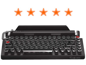 Typewriter Retro Mechanical Keyboard