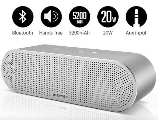 BlitzWolf 5200mAh Hands-free Wireless Speaker