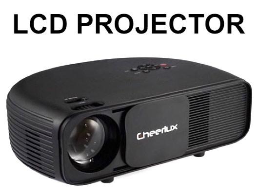 Cheerlux CL760 3000 Lumens Video Projector discount