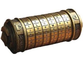 Creative Small Unique Gift Da Vinci Code Locker
