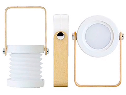 Creative Wooden 360 Rotating Night Lamp