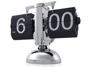 Digital Auto Flip Down Retro Clock