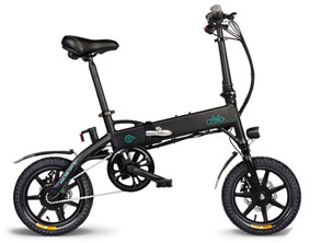 Durable Electric Bike FIIDO Folding Moped