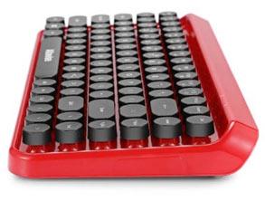 Ergonomic Bluetooth Retro Keyboard Mouse Combo