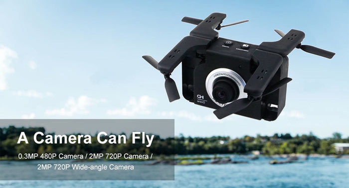Flying Camera Mini WiFi FPV RC Drone