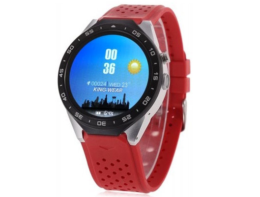 GPS Heart Rate Monitor Mens SmartWatch phone