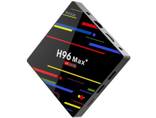 H96 MAX+ Voice Remote Control 4K TV BOX